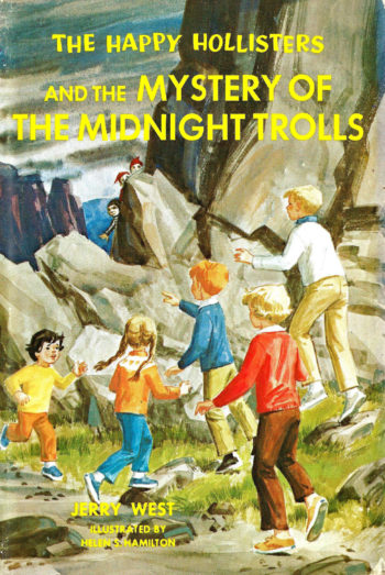 Happy Hollisters_Midnight Trolls_hardcover front