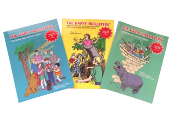 Happy Hollisters_Coloring & Activity Book_SET3