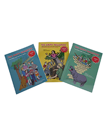 Happy Hollisters_Product Shot_Coloring Books set of 3-1