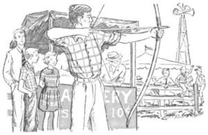 celebrate-the-summer-olympics-archer